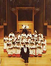 写真 英国ケンブリッジ大学キングズ・カレッジ合唱隊