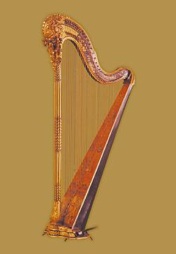 ペダル・ハープ(シングル・アクション) Pedal-Harp (single action)
