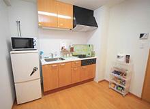 上野寮Bタイプ キッチン